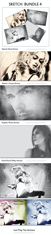 Sketch Bundle 4 - Photoshop Add-ons