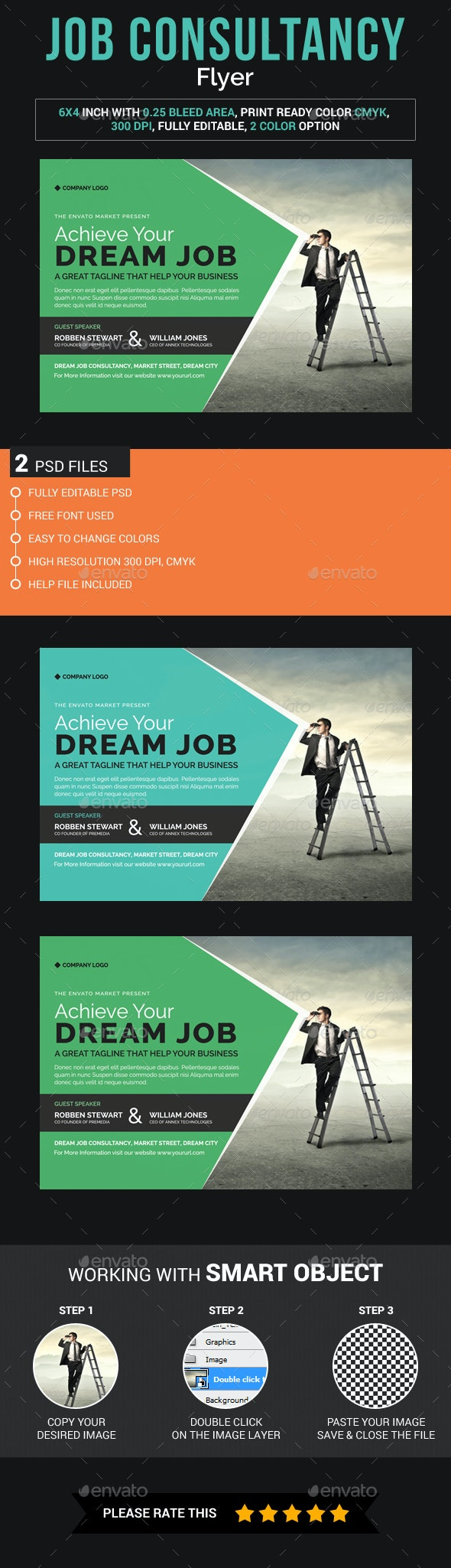 Job Conference Flyer - Corporate Flyers