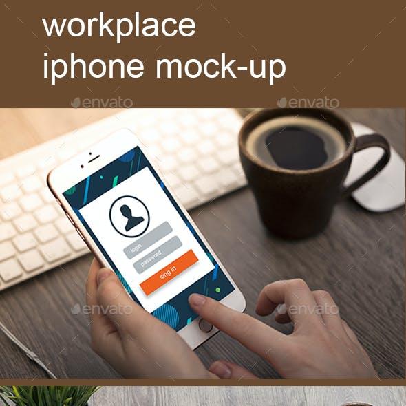 Phone Photo Mockup