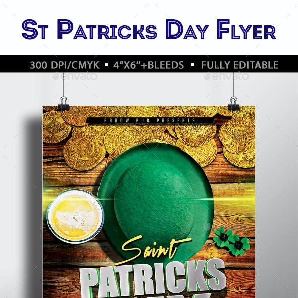 St Patrick Day Flyer