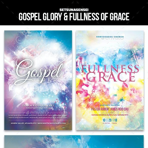 Gospel Glory & Fullness of Grace Flyers