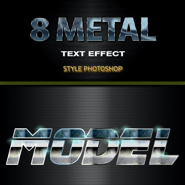 8 Metal Text Effect 2