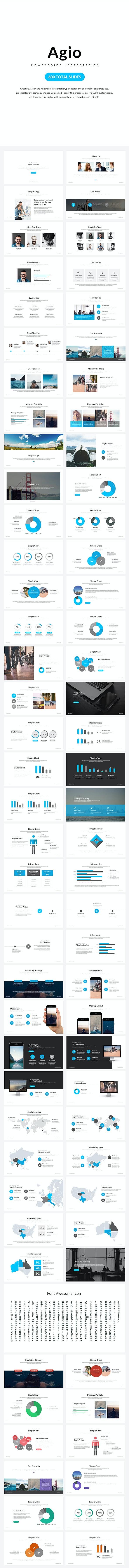 Agio Powerpoint Presentation - Business PowerPoint Templates