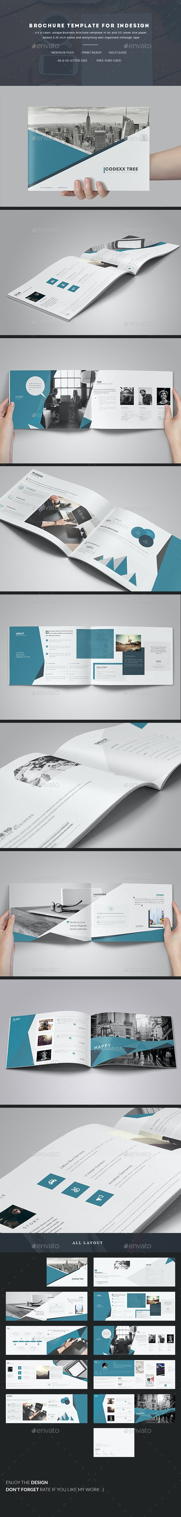 Brochure Template for InDesign - Corporate Brochures
