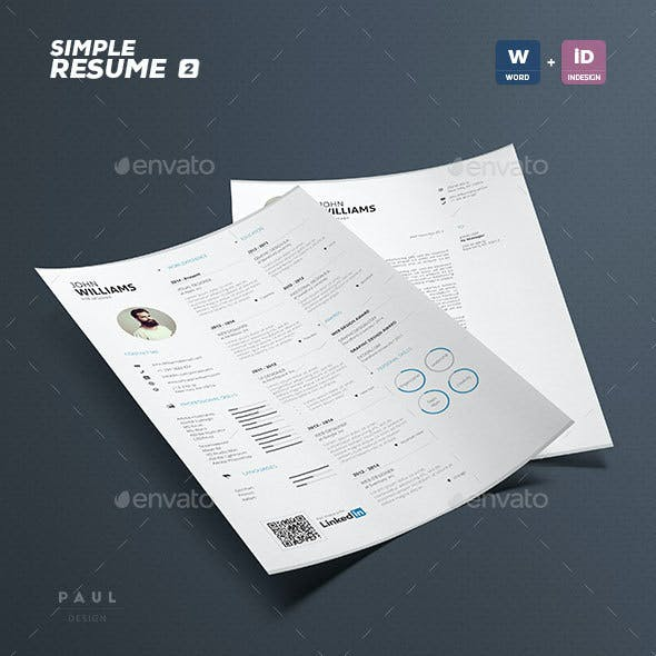 Simple Resume Vol. 2
