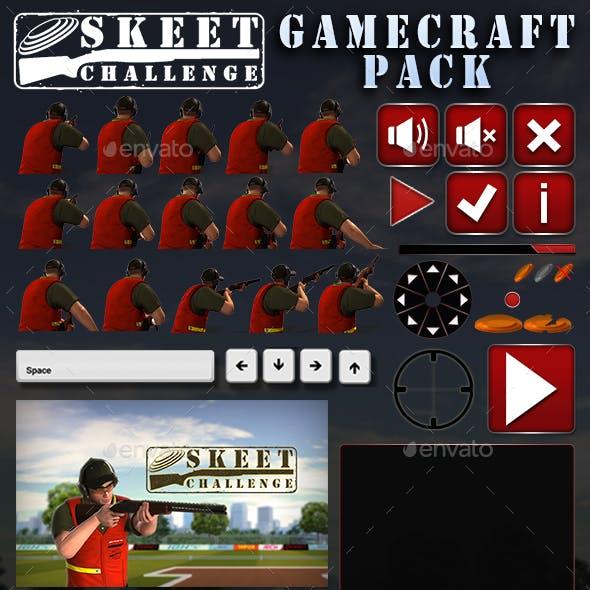 Skeet Challenge Game Assets
