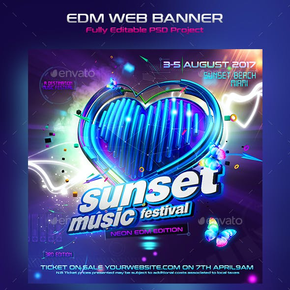 Ultimate EDM Web Banner 2nd Edition
