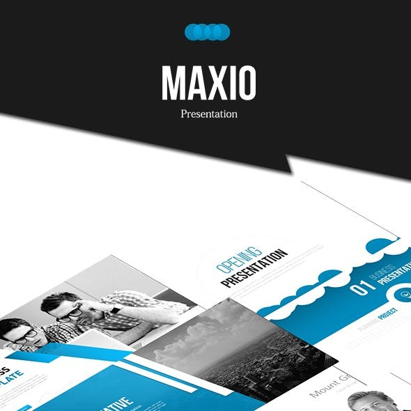 MAXIO - Google Slides Business Presentation