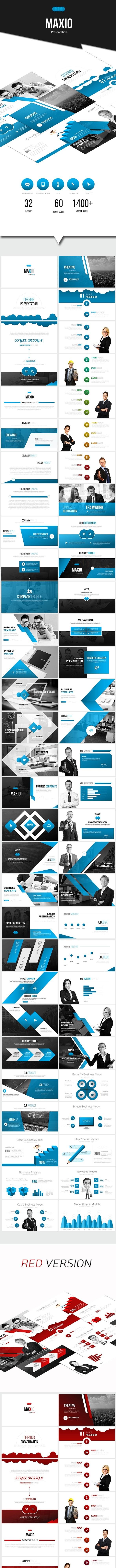 MAXIO - Google Slides Business Presentation - Google Slides Presentation Templates