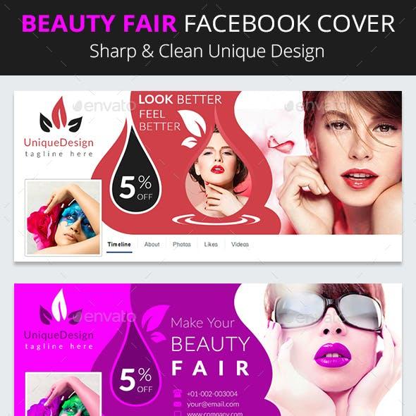 Beauty Fair Facebook Timeline