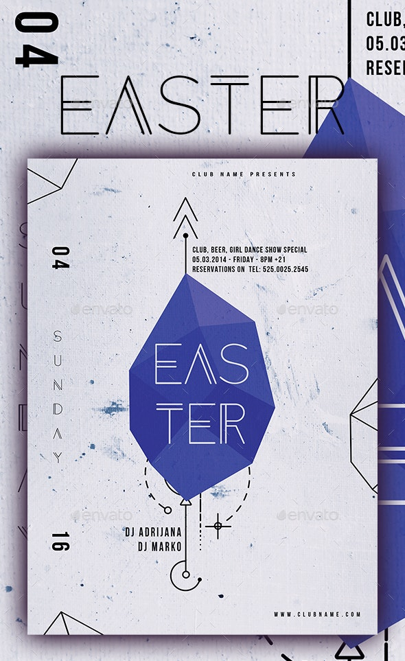 Easter Poster IV - Events Flyers