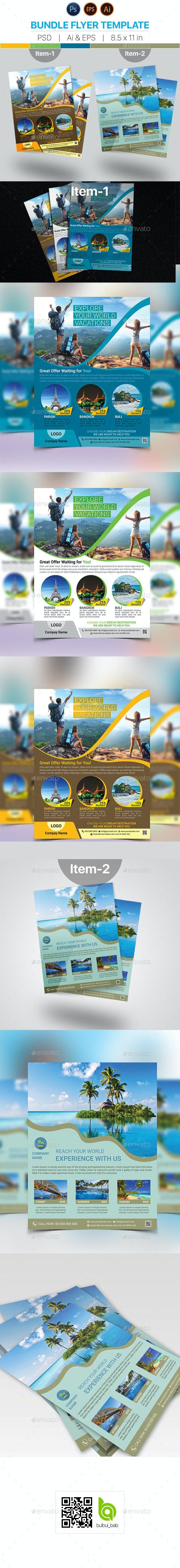 Travel Flyer Bundle - Holidays Events