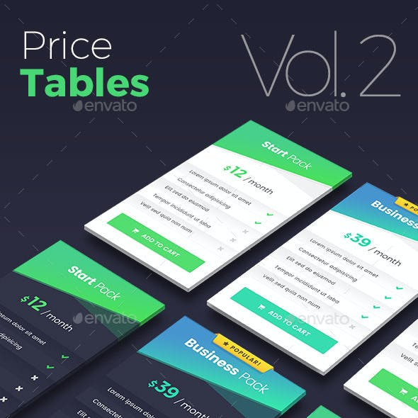 Price Tables - Vol.2