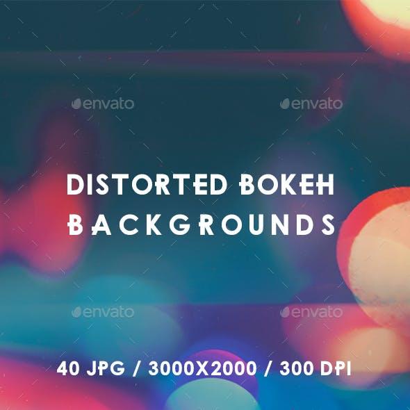 40 Distorted Bokeh Backgrounds