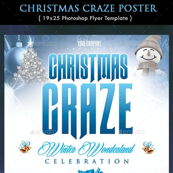 Christmas Craze Poster