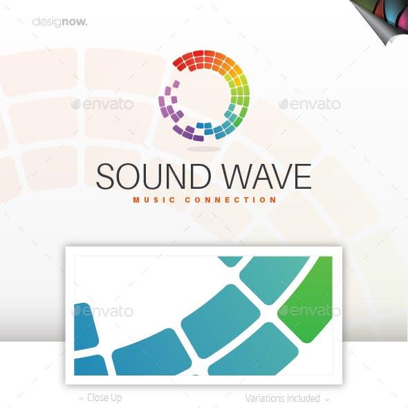 Music Wave Logo