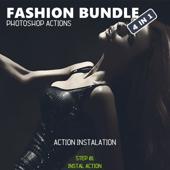 Fashion Bundle - Photoshop Actions #5