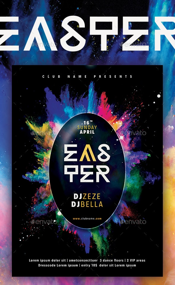 Easter Poster III - Events Flyers