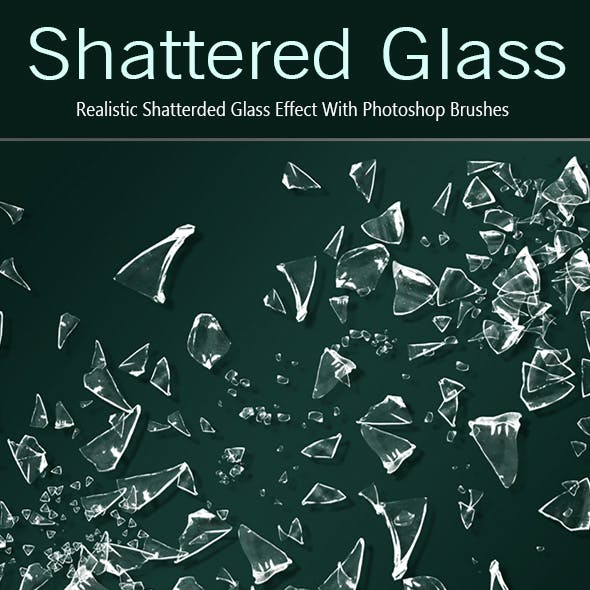 35 Shattered Glass PS Brushes - Full Pack