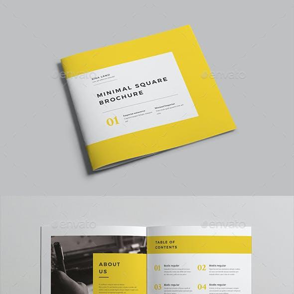 Minimal Square Brochure vol 2