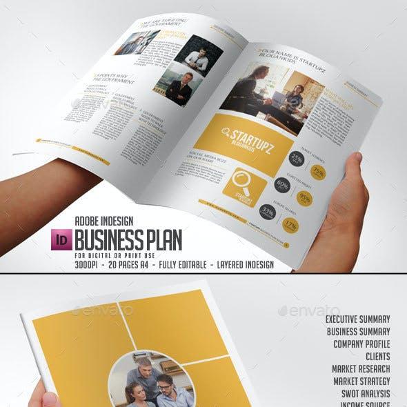 Business Plan - STARTUPZ Vol1