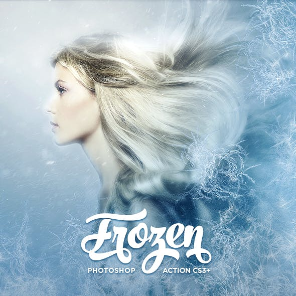 Frozen Photoshop Action CS3+