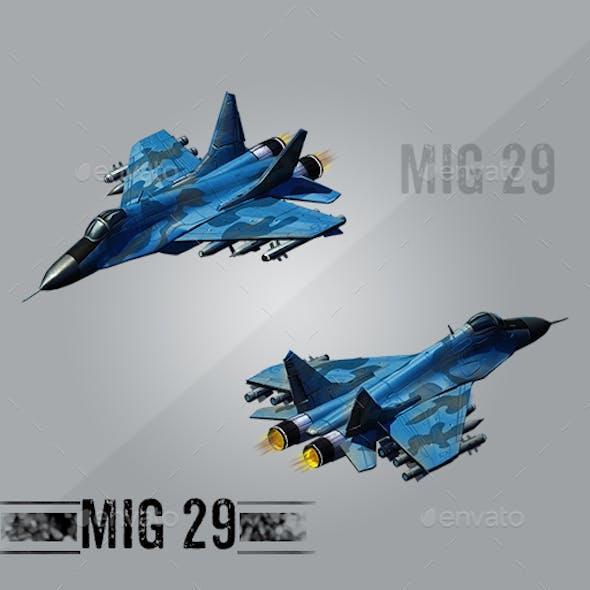 Isometric Aircraft