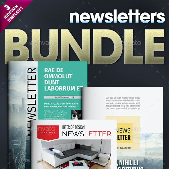 3 Newsletters Bundle