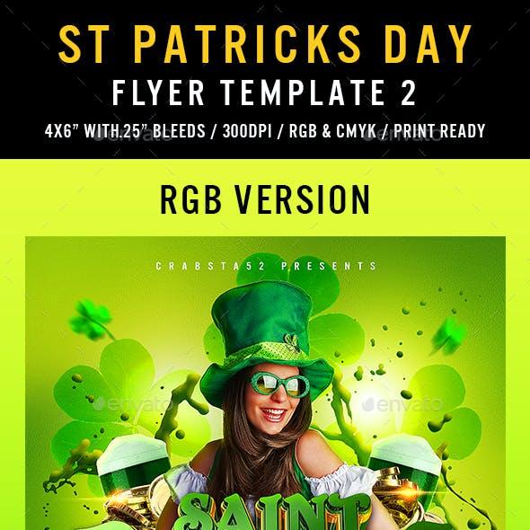 St Patricks Flyer Template 2