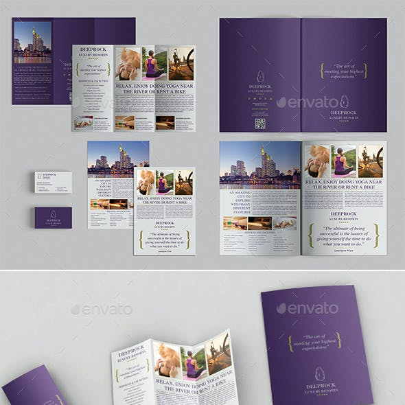 Bifold Brochure + Trifold + Flyer + BC Templates