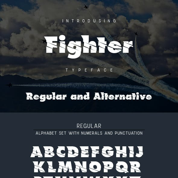 Fighter Typeface