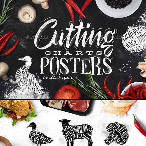 Poster Meat & Vegetables