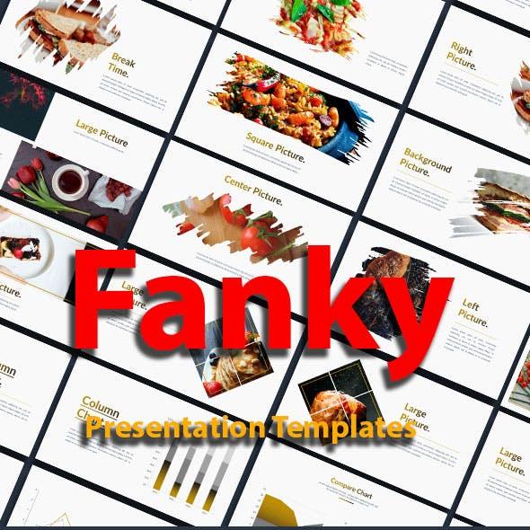 Fanky - Food Keynote Template