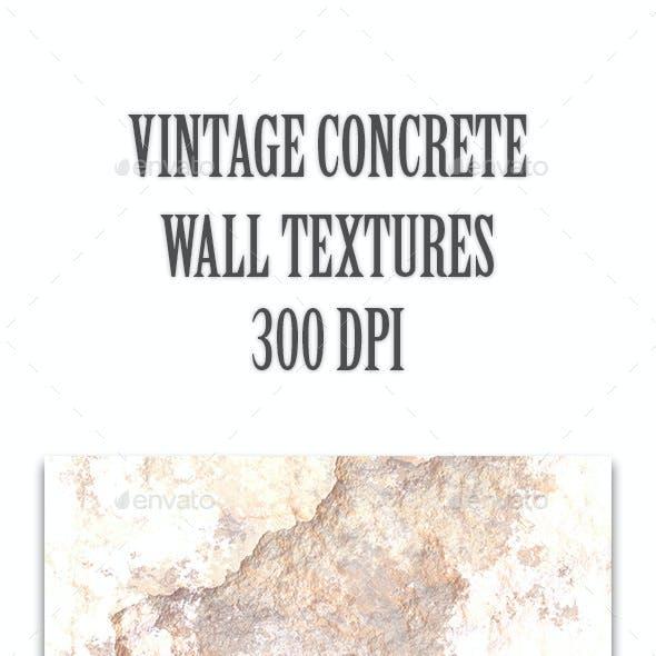 Vintage Concrete Wall Textures