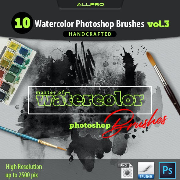 Master of Watercolor Brushes Vol.3