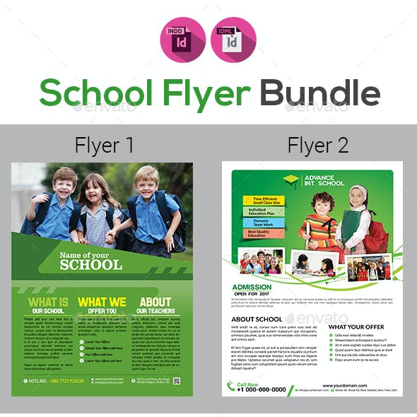 School Flyers Bundle