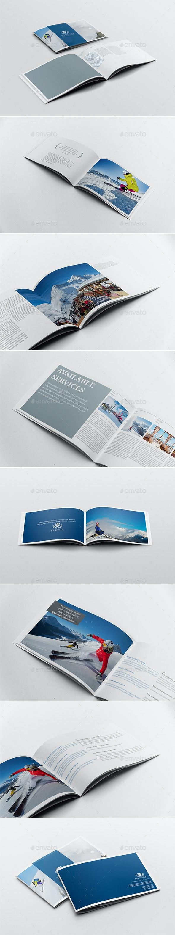 Travel Brochure / Guide Template - Brochures Print Templates