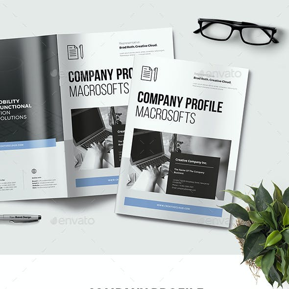 Company Profile by -BeCreative-