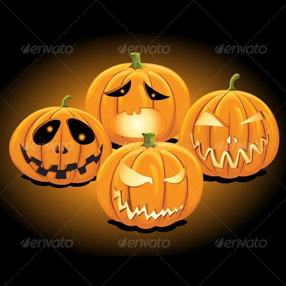 Halloween Pumpkins 2 - Halloween Seasons/Holidays