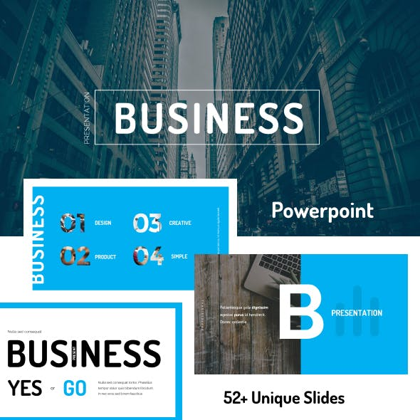 Business PowerPoint Template 01