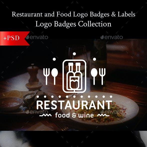 Food Logo Badges & Labels