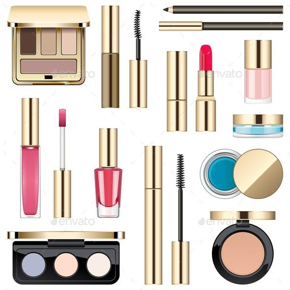 Vector Makeup Icons