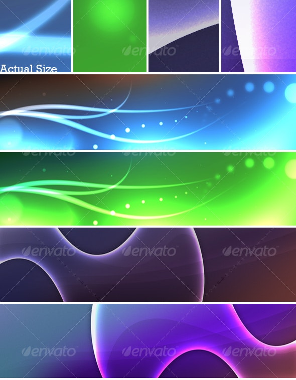 PJ's Abstract Background Set 01 - Abstract Backgrounds
