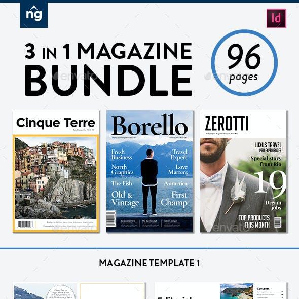 Magazine Template Bundle, Vol. 3