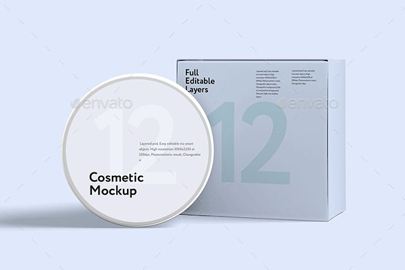 Cosmetics mock-up - Beauty Packaging