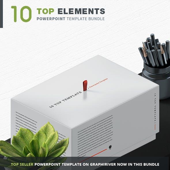 10 Top Powerpoint Template Bundle