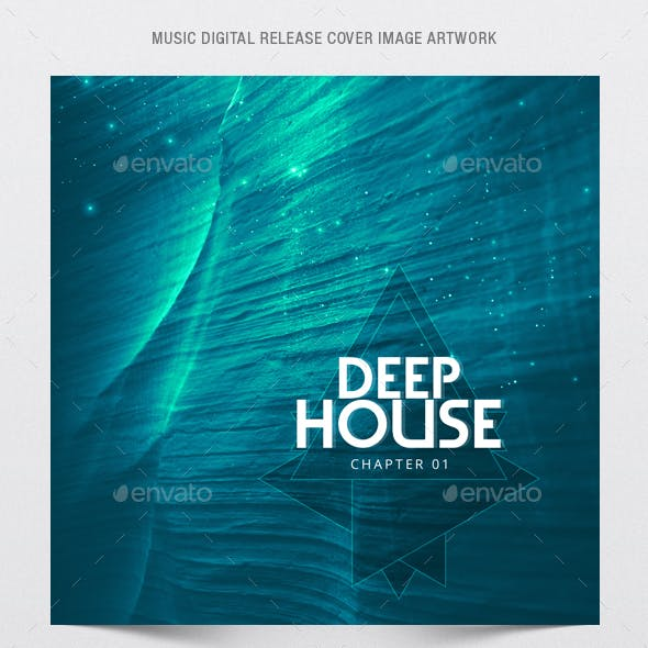Deep House Chapter 1 - Music Cover Image Artwork Template