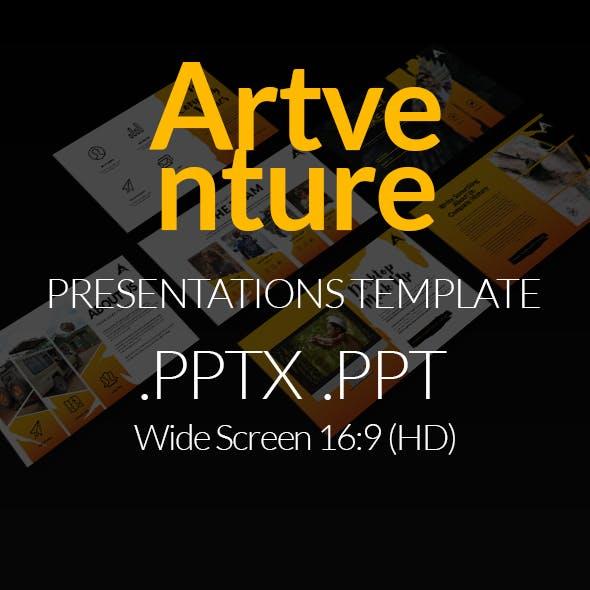 Artventure Presentation Templates