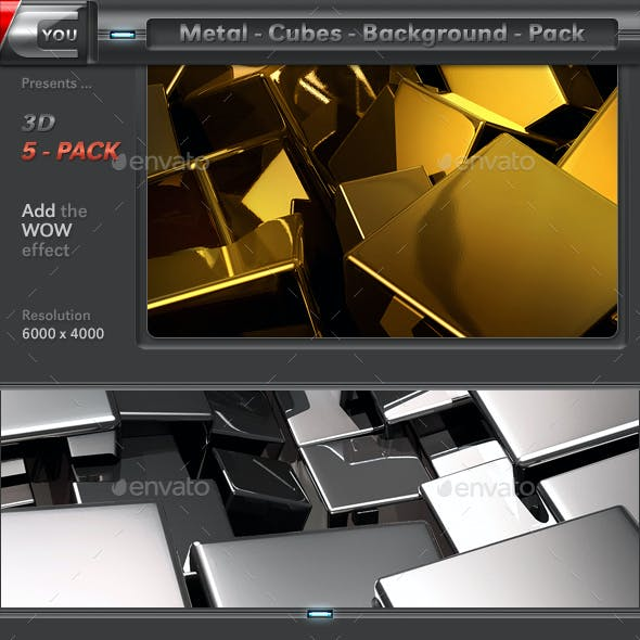 Metal Cubes Pack