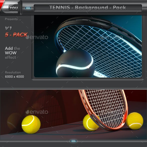Tennis Background Pack